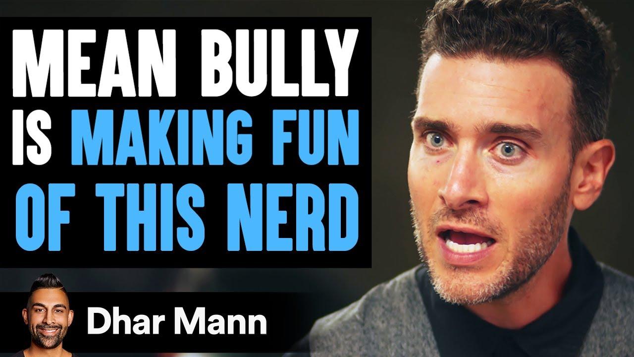 Stranger Makes Fun Of Nerd, Lives To Regret His Decision | Dhar Mann