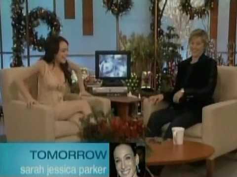 Lindsay Lohan Ellen Degeneres 2005 Interview