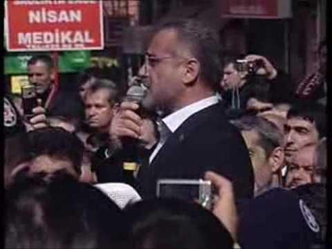 BBP partisi Genel Sekreteri Sayın Yalçın Topçunun Konuşması