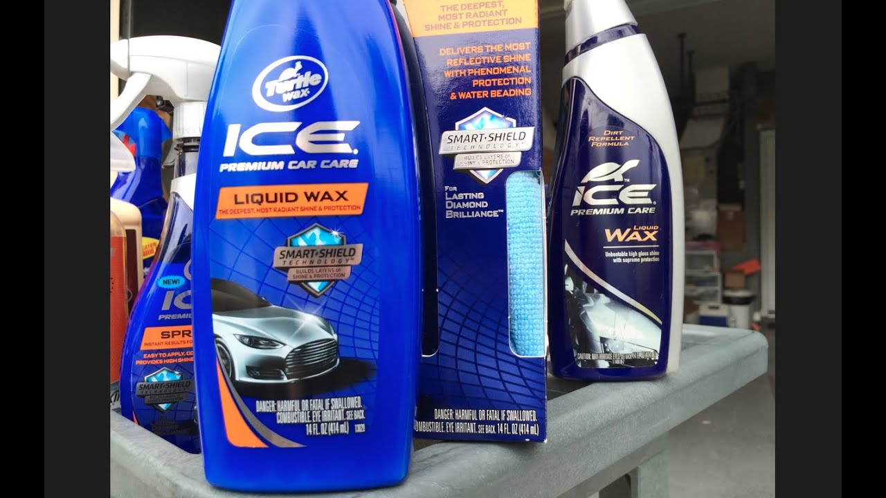 New 2015 Turtle Wax Ice Liquid Wax Review Water Test Youtube