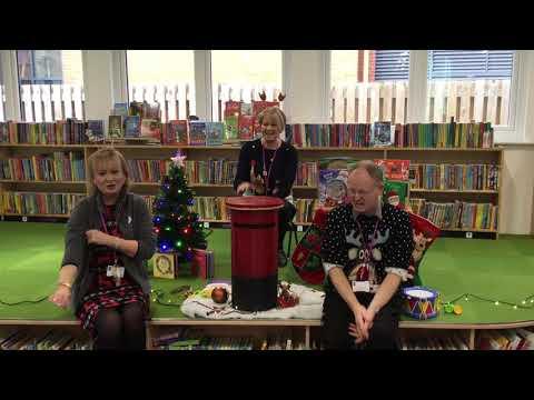 Amser Rhigwm Nadolig yn Llyfrgell Y Fflint! Christmas Rhymetime at Flint Library!