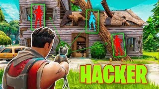 LOS HACKERS MÁS INCREÍBLES DE FORTNITE *HACKER COMPILATION* - FORTNITE: Battle Royale