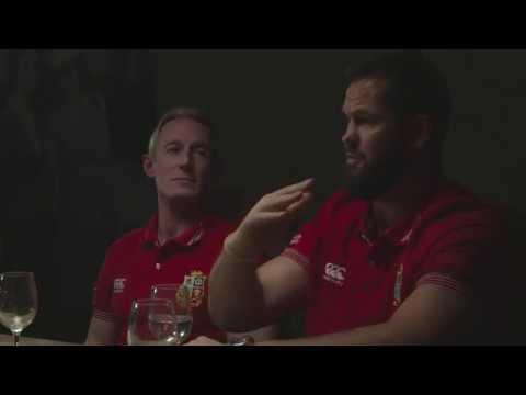 Andy Farrell on 'The Hurt Arena' speech | Lions NZ 2017