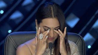 nach baliye 8   episode 6   sonakshi sinha cries during a shoot   22nd april 2017