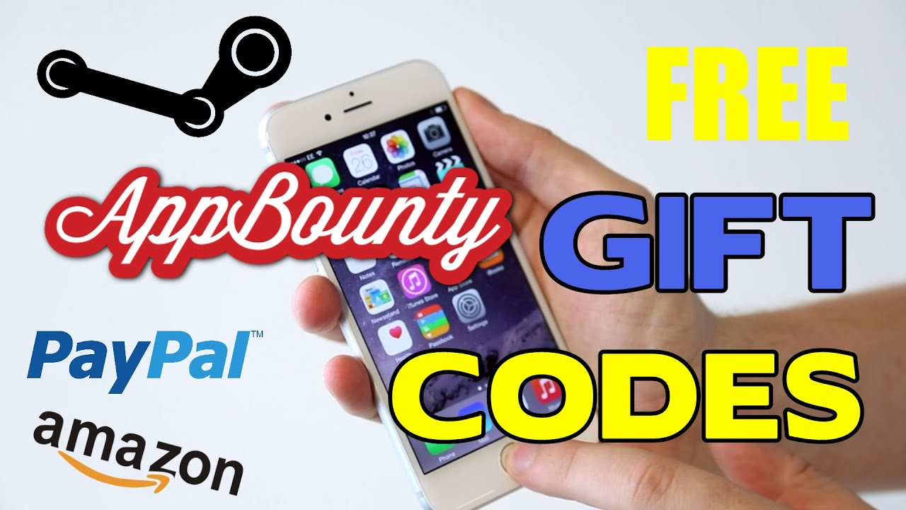 App Bounty - FREE Gift Cards for Steam, PayPal, amazon and more ...