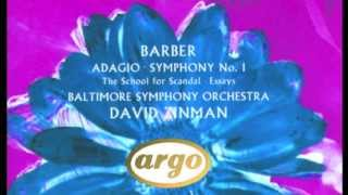 Barber - Overture to