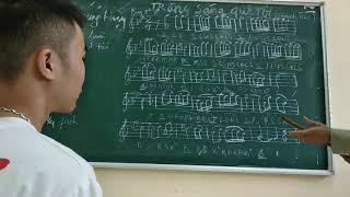 Trăng Sáng Quê Tôi . St Nsut Đinh Thìn . Phong Huy hướng dẫn các bạn tập phần 1