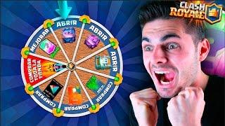 ¡¡JUEGO LA RULETA SUPERMÁGICA Y CONSIGO LEGENDARIA!! NUEVO MINIJUEGO CLASH ROYALE!!