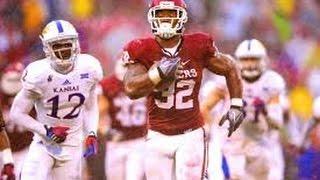 "Samaje Perine Oklahoma Sooners Freshman Highlights |""Powerful Perine""| HD"