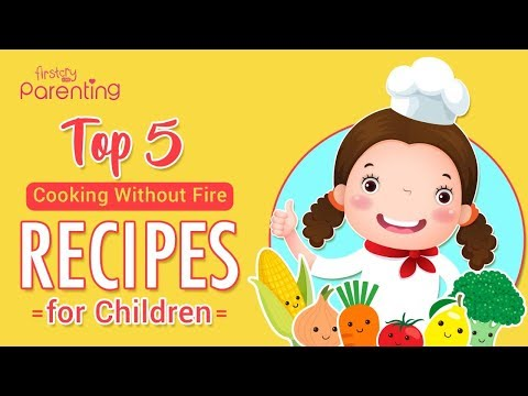 5 Easy To-Do No Fire Recipes to Cook With Children