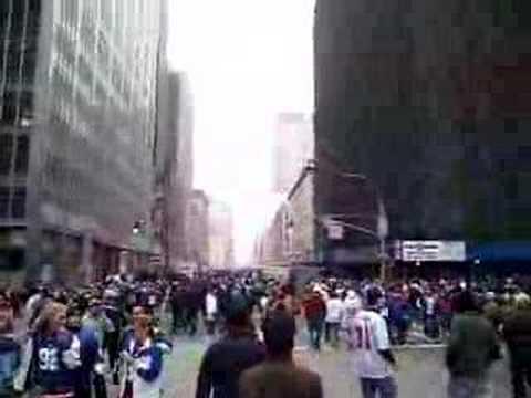 2008 February - Giants Superbowl Parade Roaming Do...