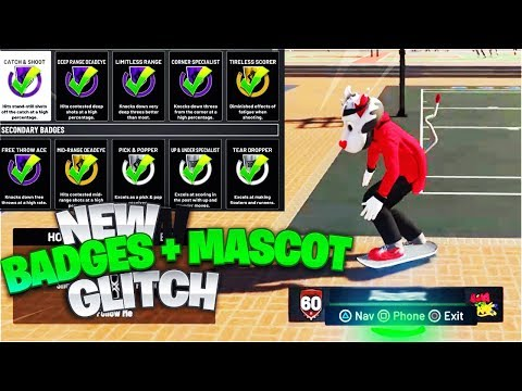 NEW ! 60 OVERALL MASCOT + ALL HALL OF FAME BADGES MAXED OUT