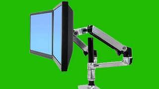 Ergotron LX Dual LCD Arm -Stacking  -Review