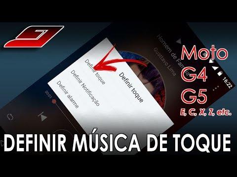 Colocar MÚSICA como TOQUE no Moto G3, G4, G5, etc | Guajenet