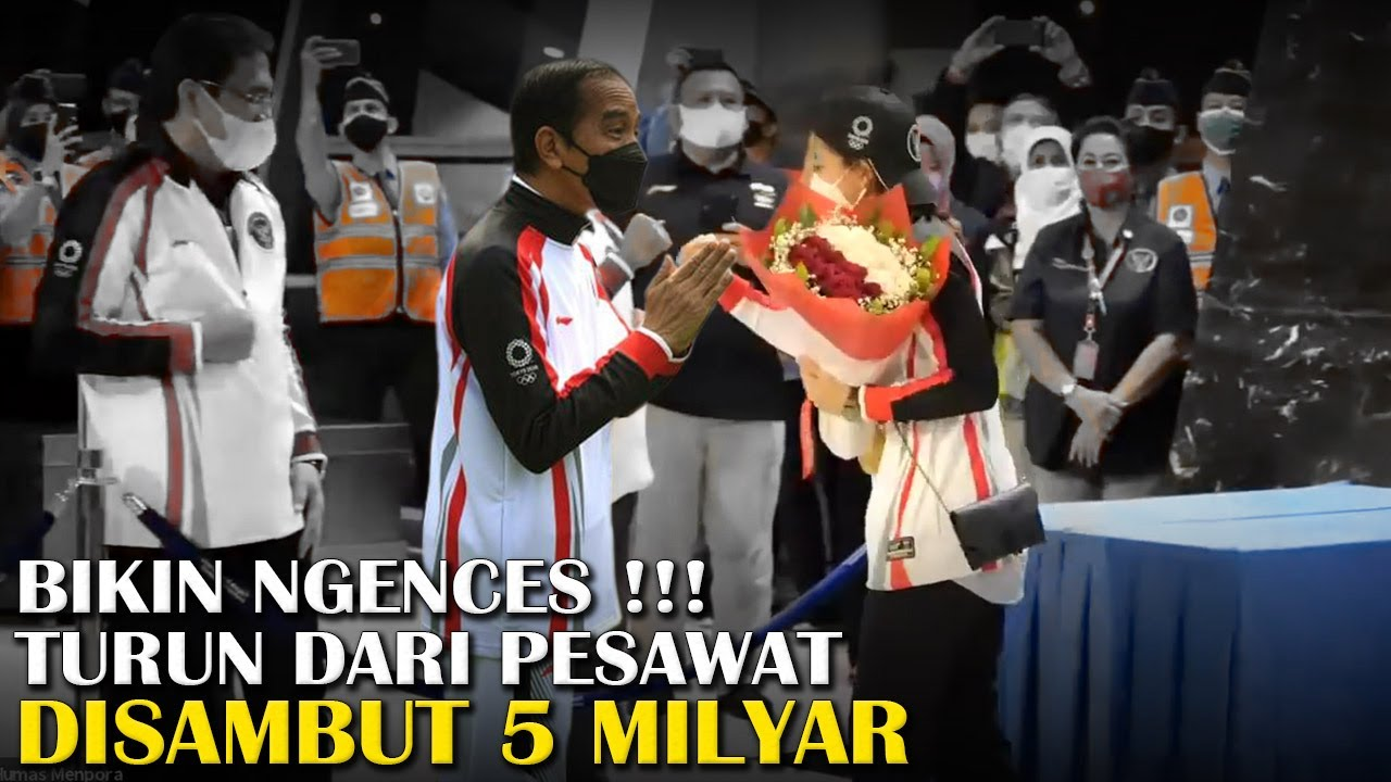 Penyerahan Bonus 5M Untuk Greysia Polii dan Apriyani Rahayu, Presiden Jokowi Menyambutnya di Istana