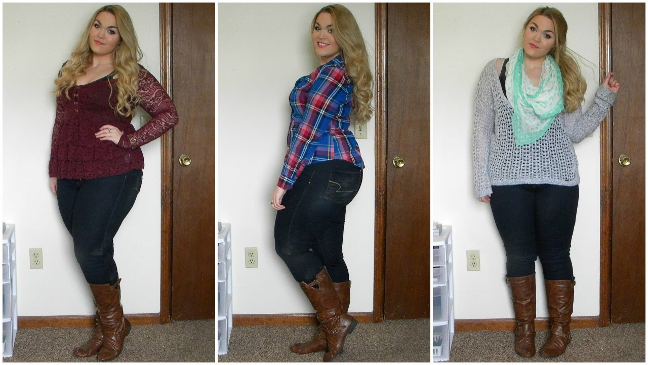 The Curvy Diaries: Winter to Spring Lookbook