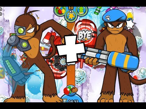 YOU NEED TO SEE THIS STRATEGY! - Bloons TD Battles