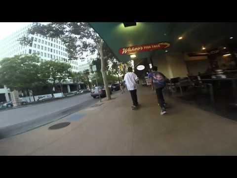 Skateboarding daily life in Pasadena