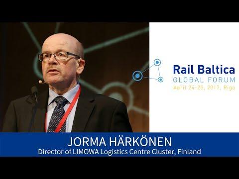 J. Härkönen. Finnish Business Opportunities with Rail Baltica | RBGF 2017