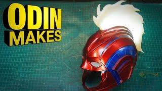 Odin Makes: Captain Marvel Helmet