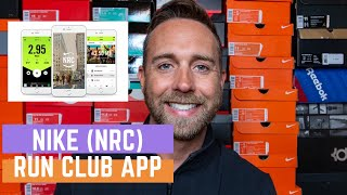 How to use the Nike Run Club App and why it's great for new runners! (2020)