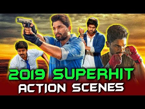 2019 Superhit Action Scenes South Hindi Dubbed   Allu Arjun, Vijay, Yash