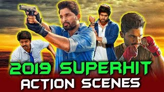 2019 Superhit Action Scenes South Hindi Dubbed | Allu Arjun, Vijay, Yash