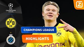 DE GOLDEN BOY IS WEER OP DREEF! 🇳🇴🙌🏼 | Dortmund vs Brugge | Champions League 2020/21 | Samenvatting