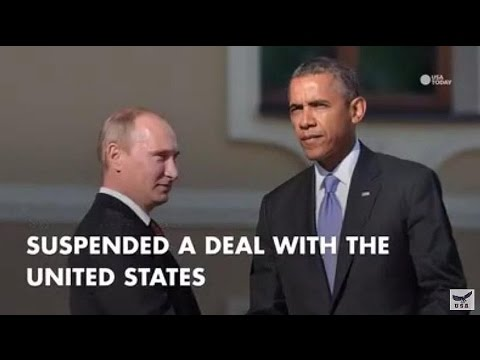 Russia halts plutonium disposal nuclear deal with United States - Cold War tactics