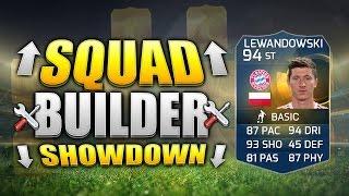 FIFA 15 SQUAD BUILDER SHOWDOWN!!! TOTS LEWANDOWSKI!!!  Fifa 15 Squad Builder Duel