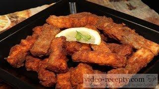 Carp fries - video recipe