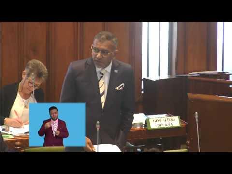 Fijian Minister for Industry response to Youth Entrepreneur Scheme