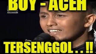Boy Aceh Yang Tersenggol D'Academy 3 Konser Result Final Top 25 4 maret 2016