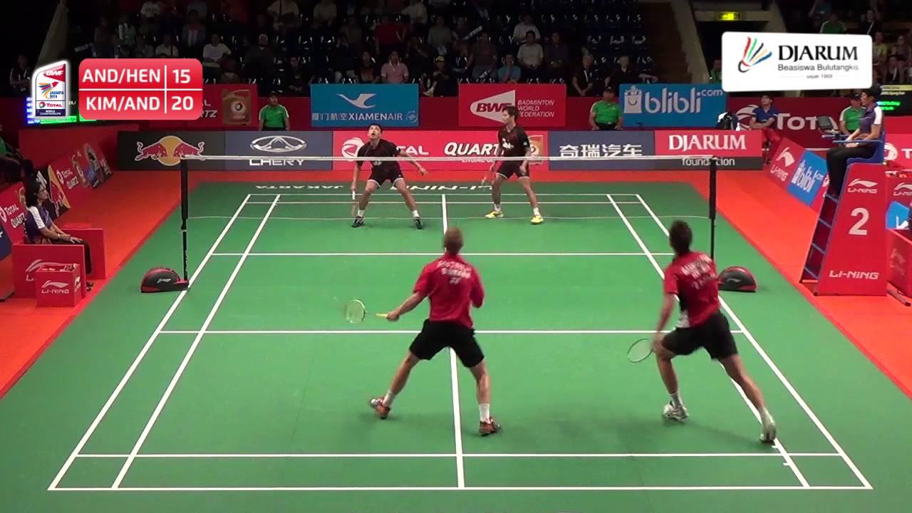 Andrei Adistia Hendra Aprida Gunawan Indonesia VS Kim Astrup