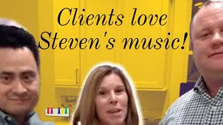 Clients Love Steven Solomon's Music!