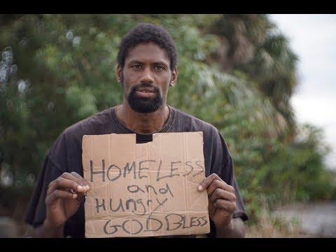 Homeless in Titusville, Florida Omar Simms