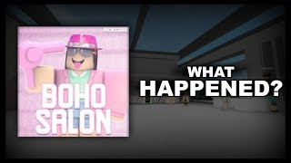 The Rise and Fall of Boho Salon (Roblox's Most Popular Group)
