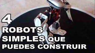 4 Robots Simples que puedes Construir