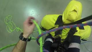 IRATA L2: Rope to rope transfer rescue