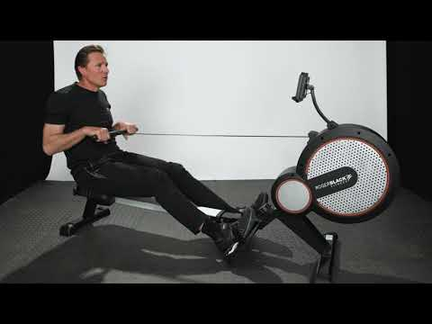 Roger Black Fitness Gold Air Rower Product Video