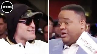 Tyson Fury KNOCKS OUT Jason Whitlock's Race Comment