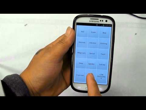 Samsung Galaxy S series service test code gives easier to diagnose issues of your Cell phone