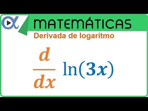 Derivada de logaritmo natural