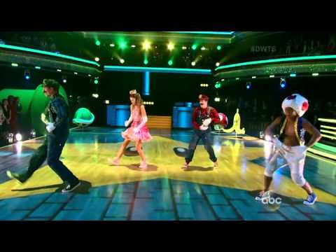 Dancing With The Stars Sadie and Mark Freestyle   Finals