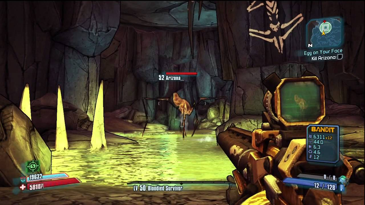 borderlands 2 bosses