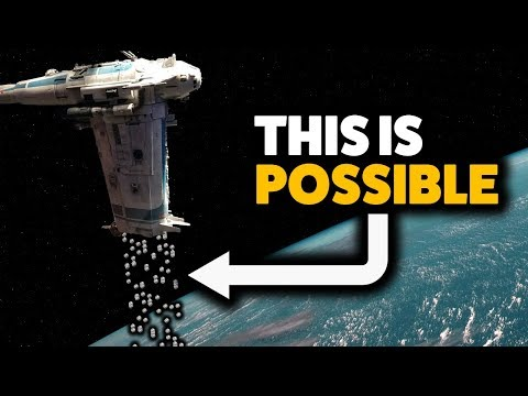 """How Bombs Can """"Fall"""" in Space (The Last Jedi)"""