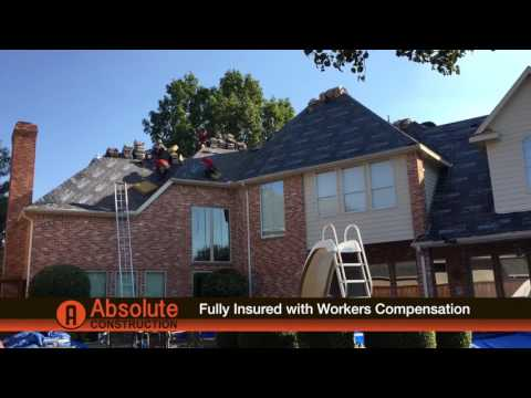 Absolute Construction - Residential and Commercial Roofing and Storm Restoration.