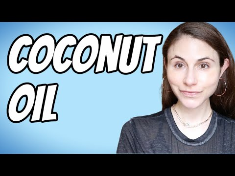 Coconut oil for skin & hair #shorts