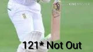 Dean Elgar scored his 11 th test century!! Aus vs Sa