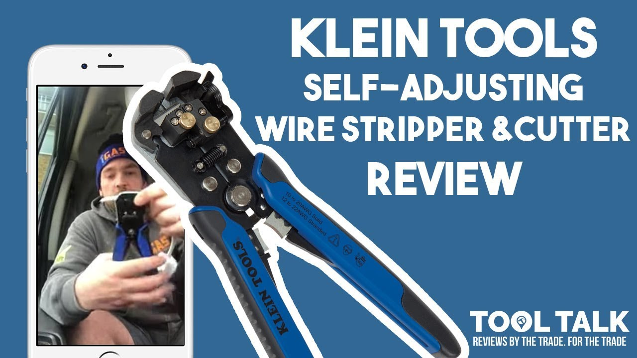 Klein Tools Self Adjusting Wire Stripper & Cutter Review By iGas ...